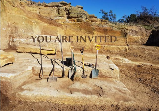 Invitation to Ross Quarry opening