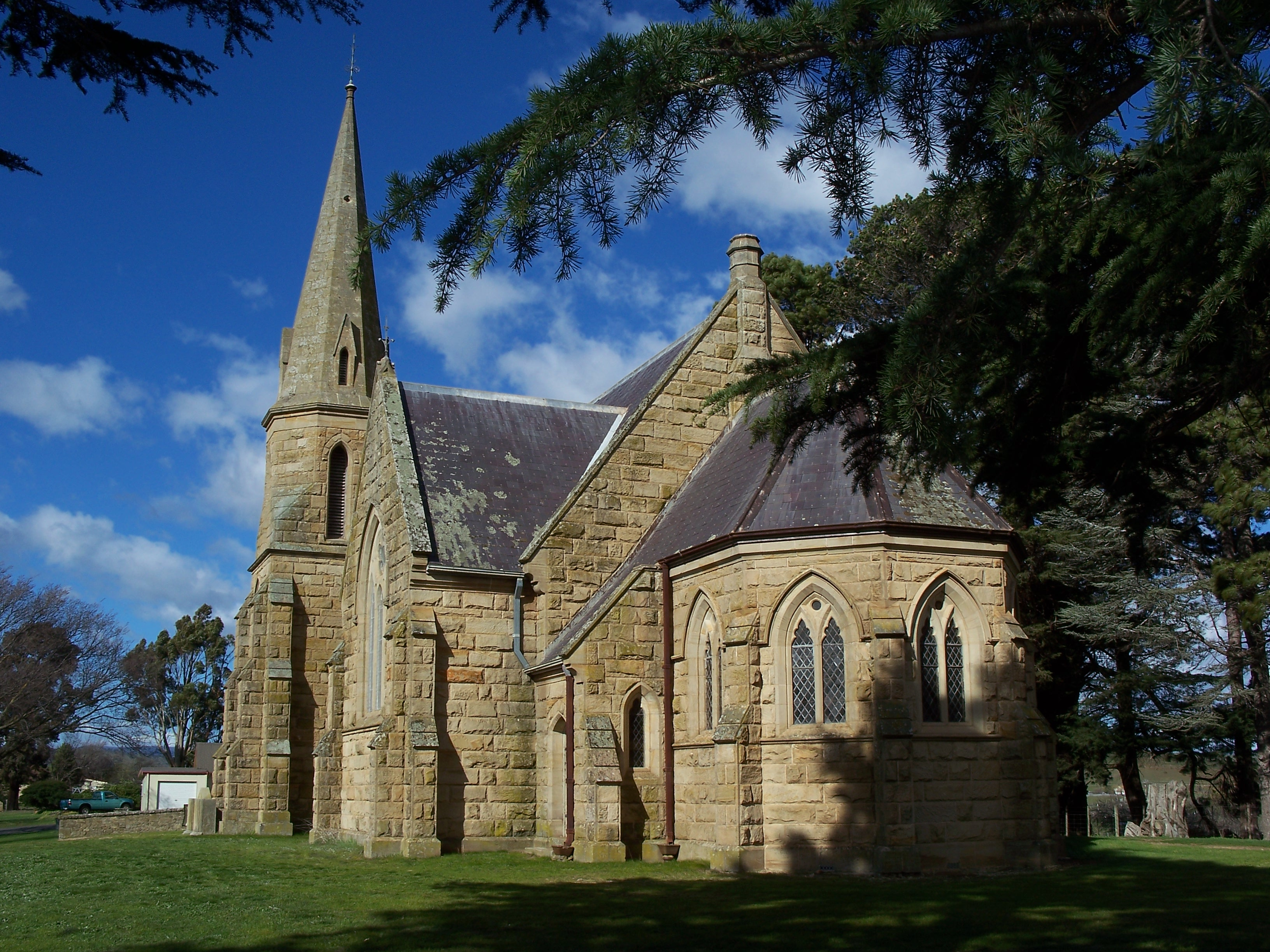 Uniting Church, Ross Tasmania. Image by G Keri.