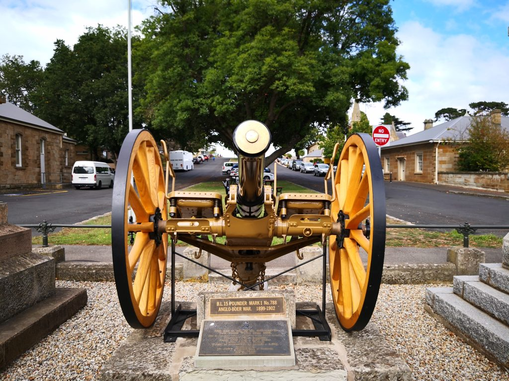 Ross 15 pound field gun